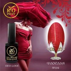 Rio Profi, Гель-лак Red Love №4, Флоелла