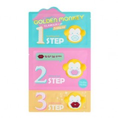 Нolika Holika, Набор для ухода за губами «Golden Monkey Glamour Lip» Holika Holika