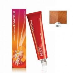 MATRIX 8CG краска для волос, светлый блондин медно-золотистый / КОЛОР СИНК 90 мл
