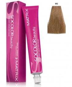 MATRIX 8G краска для волос, светлый блондин золотистый / СОКОЛОР БЬЮТИ 90 мл
