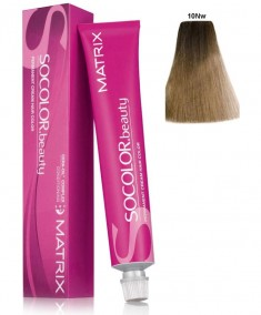 MATRIX 10NW краска для волос, очень-очень светлый блондин натуральный теплый / СОКОЛОР БЬЮТИ 90 мл