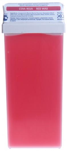 BEAUTY IMAGE Кассета с воском для тела, красный / ROLL-ON 110 мл
