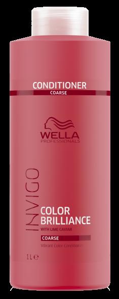 WELLA PROFESSIONALS Бальзам-уход для защиты цвета окрашенных жестких волос / Brilliance 1000 мл
