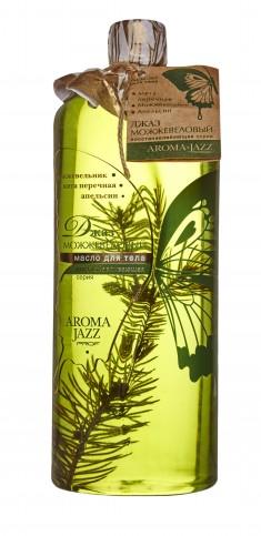 AROMA JAZZ Масло массажное жидкое для тела Можжевеловый джаз 1000 мл