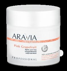 ARAVIA Крем увлажняющий лифтинговый для тела / Organic Pink Grapefruit 300 мл