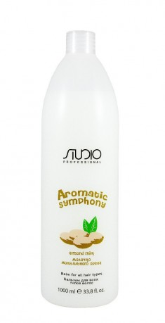 STUDIO PROFESSIONAL Бальзам для всех типов волос Молочко миндального ореха / Aromatic Symphony 1000 мл Kapous