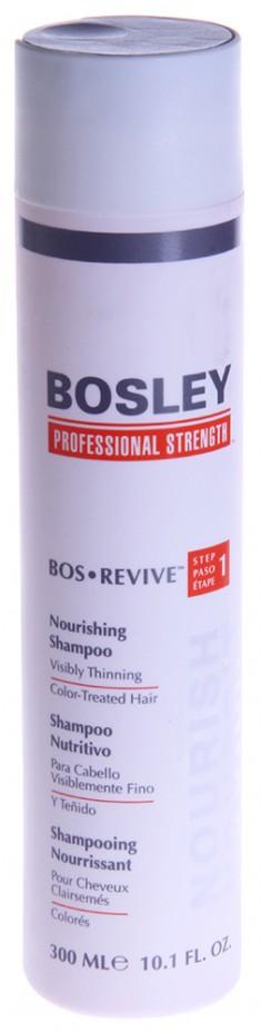 BOSLEY Шампунь питательный для истонченных окрашенных волос / ВОS REVIVE (step 1) 300 мл