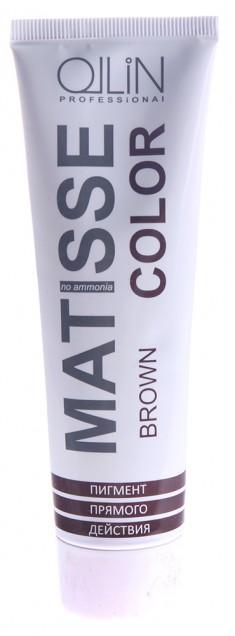 OLLIN PROFESSIONAL Пигмент прямого действия, коричневый / Brown MATISSE COLOR 100 мл