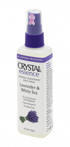 CRYSTAL Дезoдорант-спрей, лаванда и белый чай / Crystal Sprey Lavender & White Tea 118 мл