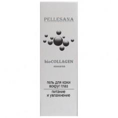 Pellesana biocollagen гель Активный коллаген для кожи вокруг глаз 15 мл