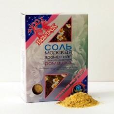 Dr.Aqua Соль Морская ароматная с микроэлементами Ромашка 500г