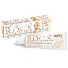 Рокс Зубная паста Baby Нежный уход с экстрактом Айвы 45 гр ROCS