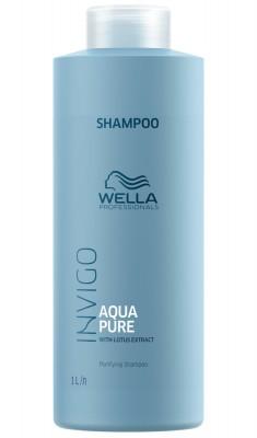 Wella Invigo Balance Aqua Pure очищающий шампунь 1000мл