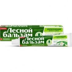 Лесной Бальзам Зубная паста Профилактическая с экстрактами алоэ вера и белого чая на отваре трав 75мл ЛЕСНОЙ БАЛЬЗАМ