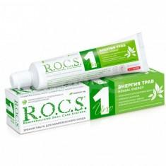 Rocs зубная паста Уно Энергия трав 74г
