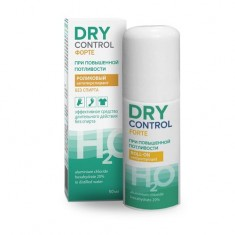Драй контрол форте без спирта ролик антиперспирант от обильного потоотделения 20% 50мл Dry Dry