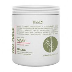 Ollin Professional FULL FORCE Маска для волос и кожи головы с экстрактом бамбука 250мл