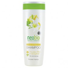 Шампунь с био-лилией и морингой для восстановления и блеска волос, 250 мл (NeoBio)