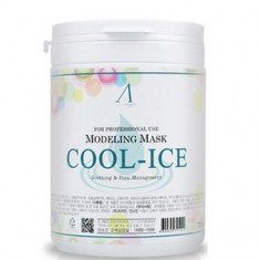 Маска альгинатная с охлаждающим и успокаивающим эффектом, банка, 240 г (700 мл) (Anskin)