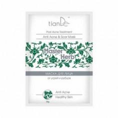 Очищающая маска от угрей и рубцов для лица, 35 г (tianDe)