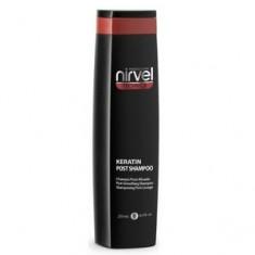 Кератиновый шампунь после процедуры выпрямления для домашнего ухода за волосами, 250 мл (Nirvel)