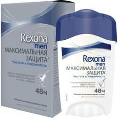 REXONA Антиперспирант-крем Максимальная защита Чистота и Уверенность 45 мл