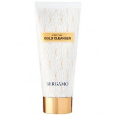 очищающая пенка для лица с золотом bergamo prestige gold cleanser