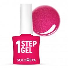 SOLOMEYA Гель-лак однофазный для ногтей, 32 турмалин / One Step Gel Tourmaline 5 мл
