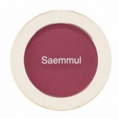 Румяна THE SAEM Saemmul Single Blusher PP02 Wild Plum 5гр