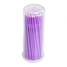 IRISK, Микрощеточки в баночке, S, фиолетовые, 90-100 шт.
