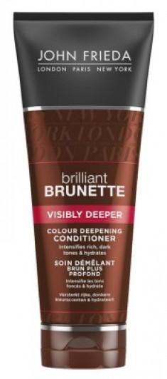 Кондиционер для создания насыщенного оттенка темных волос John Frieda Brilliant Brunette VISIBLY DEEPER 250 мл