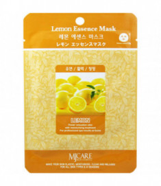 Маска тканевая лимон Mijin Lemon Essence Mask 23гр