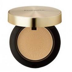 Пудра компактная золотая THE SAEM Eco Soul Luxury Gold Pact 23 Natural Beige 9г