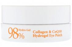 PETITFEE Патчи гидрогелевые с коэнзимом Q10 и 98% содержанием коллагена для области вокруг глаз / Eye patch 60 шт