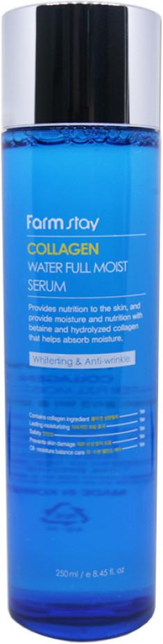 FARMSTAY Сыворотка увлажняющая с коллагеном / Collagen moistfull 250 мл