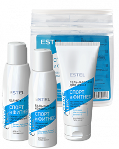 ESTEL PROFESSIONAL Набор для волос и тела (шампунь, бальзам, гель-массаж для душа) / Curex Active