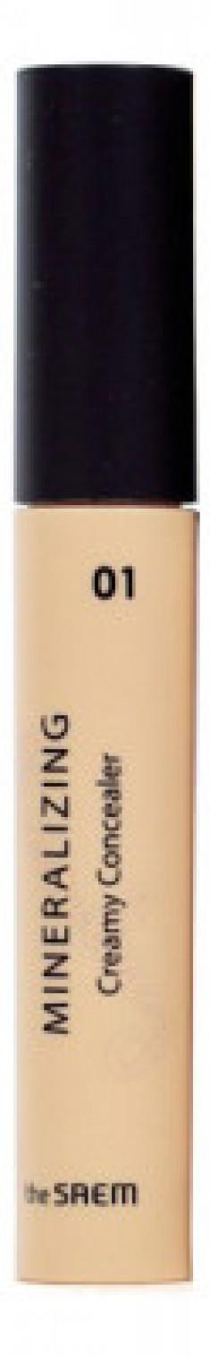 Консилер кремовый THE SAEM Mineralizing Creamy Concealer 01 Vanilla 4ml