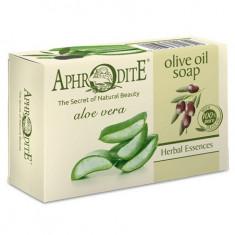Aphrodite Мыло оливковое с алоэ вера 100 г