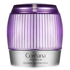 Coreana Premium Collagen solution cream Крем с коллагеном 50мл