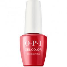 Гель лак для ногтей OPI GelColor Red Heads Ahead 15 мл
