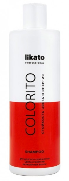 LIKATO PROFESSIONAL Шампунь-энергетик для окрашенных волос / COLORITO 400 мл