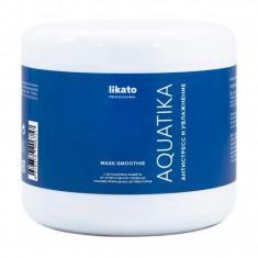 LIKATO PROFESSIONAL Маска-смузи для восстановления ослабленных и ломких волос / AQUATIKA 500 мл
