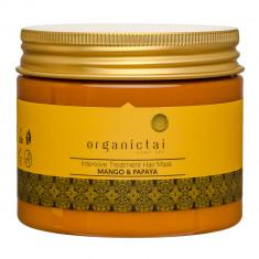 ORGANIC TAI Маска восстанавливающая для волос Манго и папайя / HOME SPA 150 мл