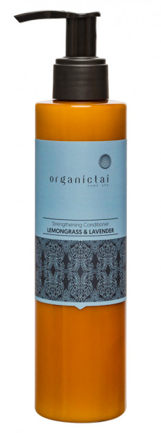 ORGANIC TAI Кондиционер укрепляющий для волос Лемонграсс и лаванда / HOME SPA 200 мл