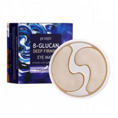 укрепляющие патчи для области вокруг глаз с бета-глюканом petitfee b-glucan deep firming eye mask