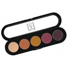 Палитра теней, 5 цветов Make-Up Atelier Paris T17 пряные атласные тона