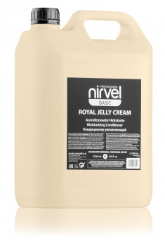 NIRVEL PROFESSIONAL Кондиционер увлажняющий с пчелиным маточным молочком для окрашенных волос / ROYAL JELLY CREAM 5000 мл