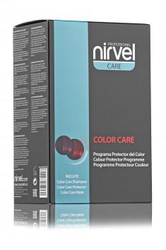 NIRVEL PROFESSIONAL Набор для окрашенных волос (шампунь 250 мл, маска 250 мл, сыворотка 150 мл) / COLOR CARE PACK