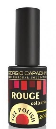 GIORGIO CAPACHINI 200 гель-лак трехфазный для ногтей / Rouge 7 мл