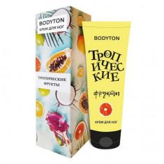 Bodyton, Крем для ног «Тропические фрукты», 60 мл